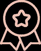 icon of award badge